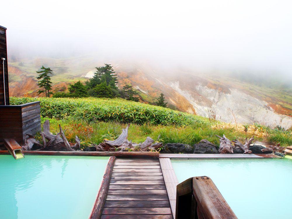 万座ホテル聚楽は温泉が絶景