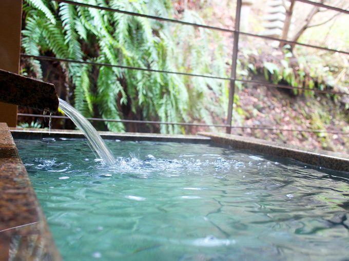 すみや亀峰菴の温泉の楽しみ方