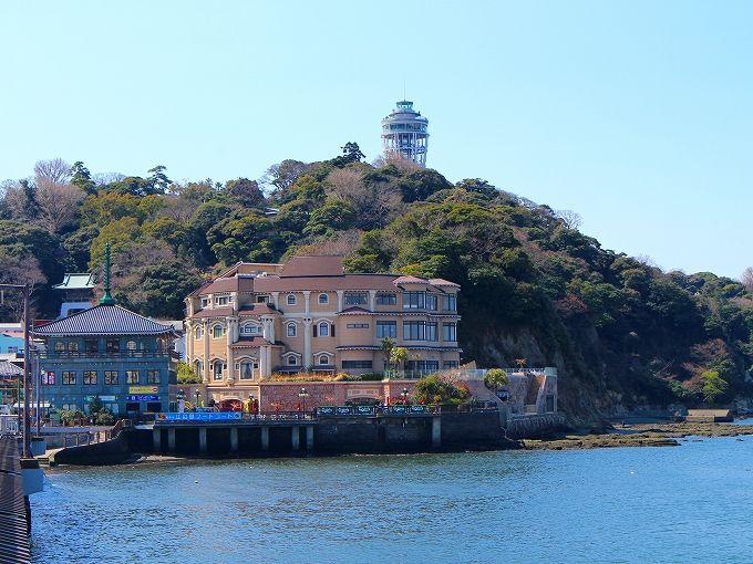 湘南の絶景ロケーションに建つ「江の島アイランドスパ」