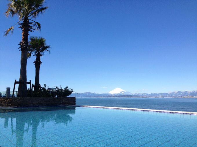 海の青にとろける絶景温泉・湘南「江の島アイランドスパ」
