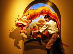 神戸異人館・子連れなら「神戸トリックアート不思議な領事館」がお勧め