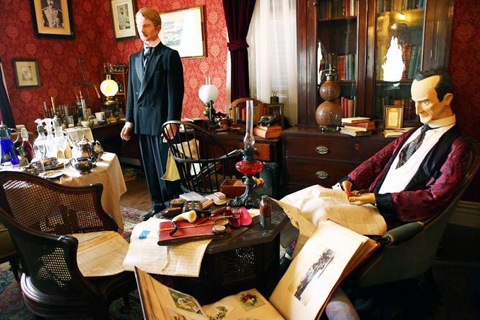 ホームズになれる異人館「英国館」