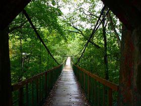 吊り橋渡って若返りの秘湯へ・福島「信夫温泉のんびり館」|福島県|トラベルjp<たびねす>