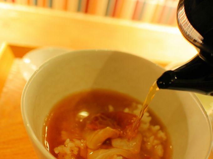 茶々助のランチメニュー「鯛茶漬け」