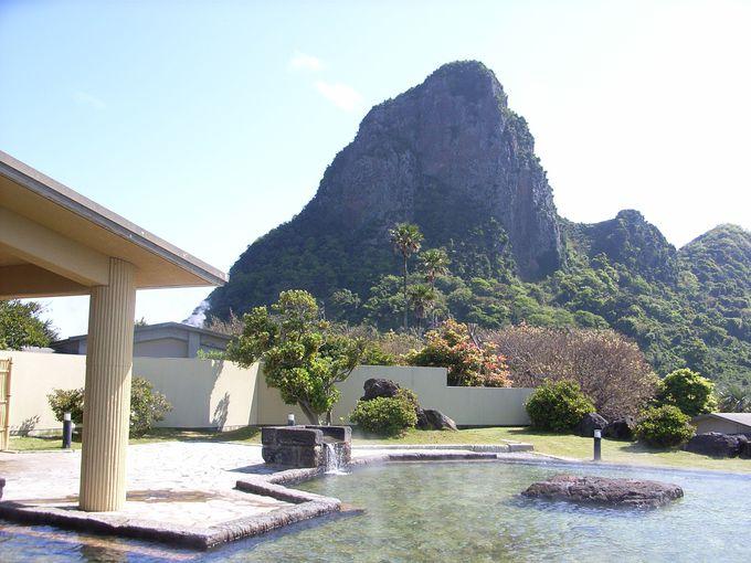 たまて箱温泉で開聞岳を眺めるか、竹山に圧倒されるか
