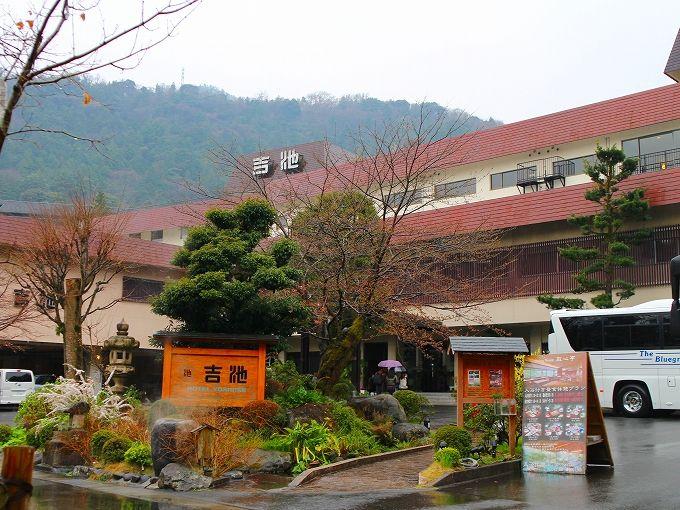 箱根の老舗「吉池旅館」内の「ステーキハウス吉池」