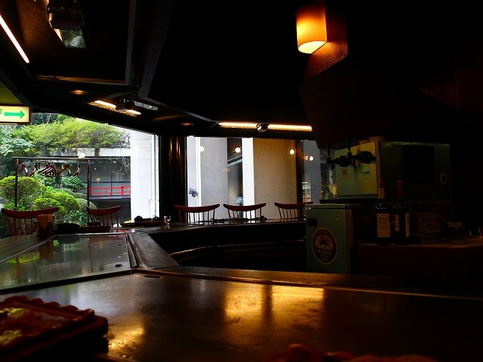 ステーキハウス吉池は吉池旅館の中に!