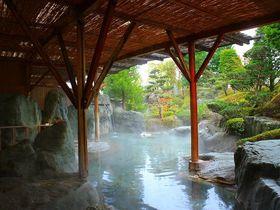 巨石露天風呂で美肌に!長野・昼神温泉「ユルイの宿 恵山」