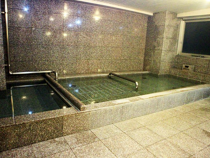 新ロイヤルホテル四万十で入る新安並温泉