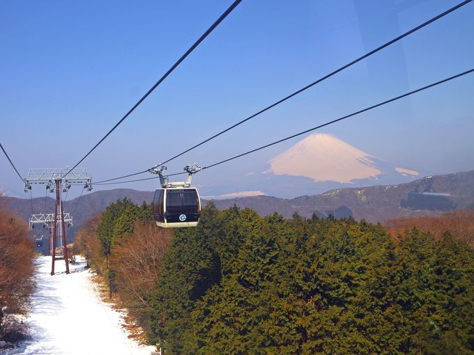 2日目午前 箱根旅行に芦ノ湖と富士山と大涌谷はハズせない!