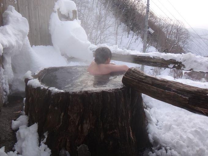 山形「新高湯温泉 吾妻屋旅館」秘湯の一軒宿だからこの絶景!