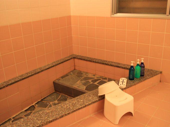 うのしまヴィラのお風呂は温泉じゃない?