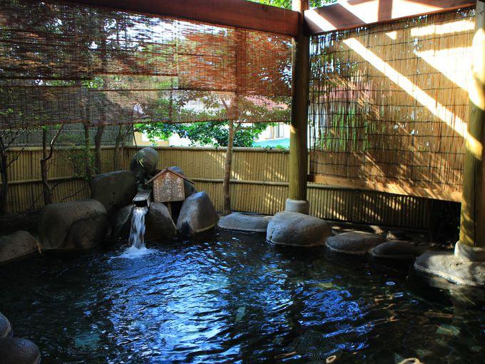群馬「磯部温泉 旭館」大きな露天風呂貸切りで子連れ家族大歓迎!