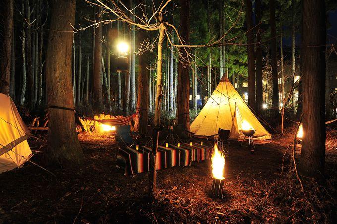 石川「一里野高原ホテルろあん」温泉も囲炉裏もグランピングも!