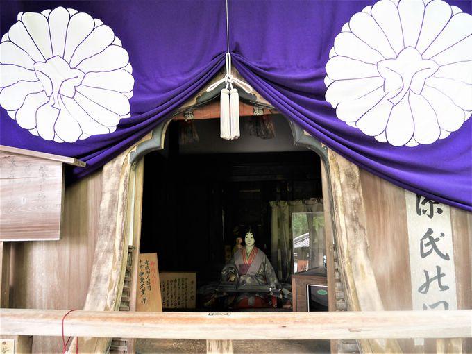 自然が織りなす古刹と紫式部