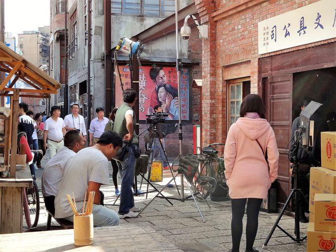 台湾映画「モンガに散る」のロケ地