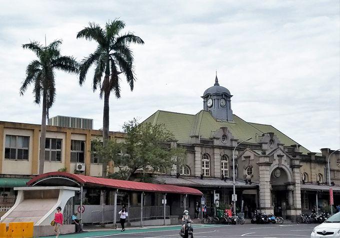 日本人が造った台湾最古の新竹駅