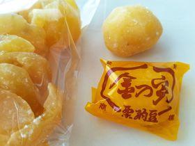 栗が主役の京土産「京都くりや」の黄金色に輝く・金の実栗納豆!|京都府|トラベルjp<たびねす>