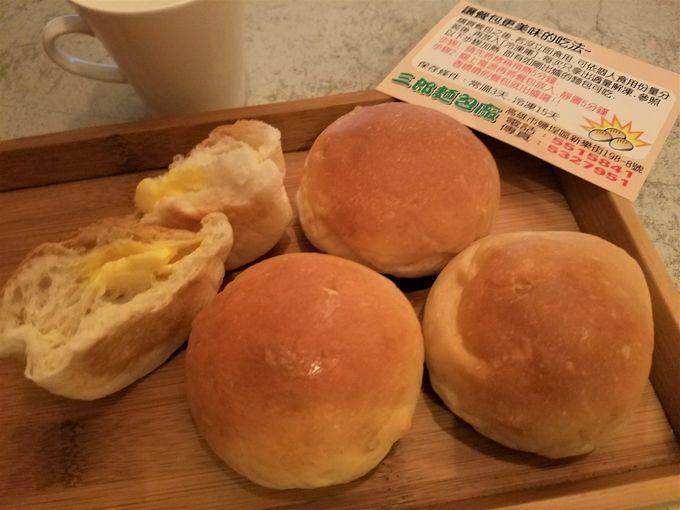 路地裏で発見!行列の三郎パン