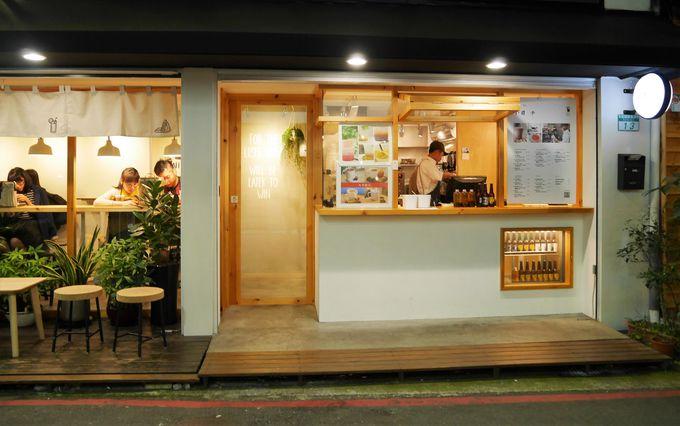 こだわりいっぱいの小さなカフェ