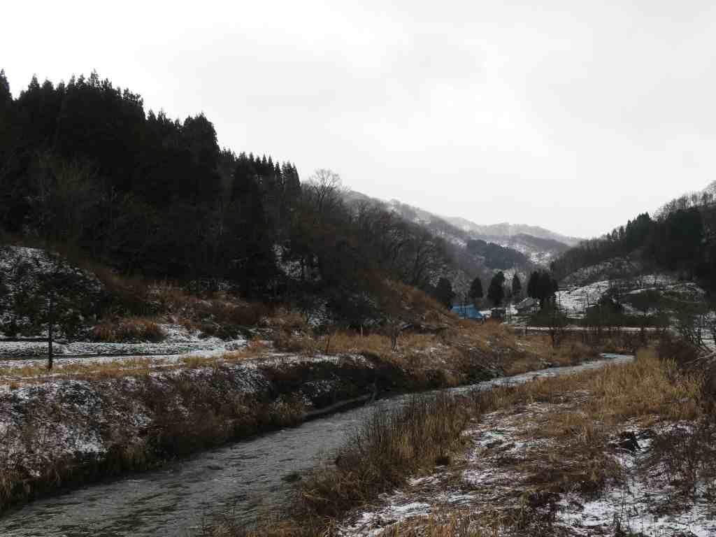 桑取地区の情緒豊かな風景
