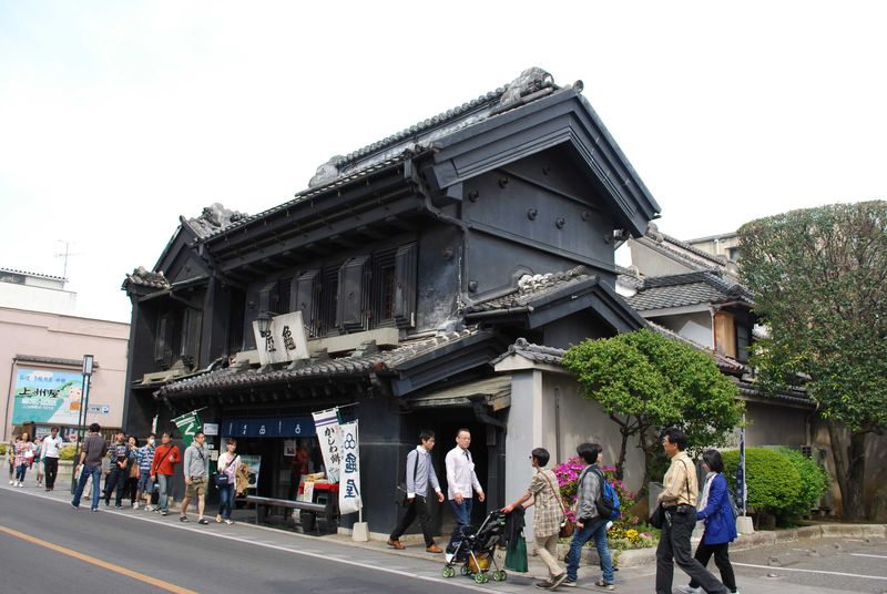 『小江戸川越』雅な和雑貨店や老舗のお店でショッピングを楽しむ。