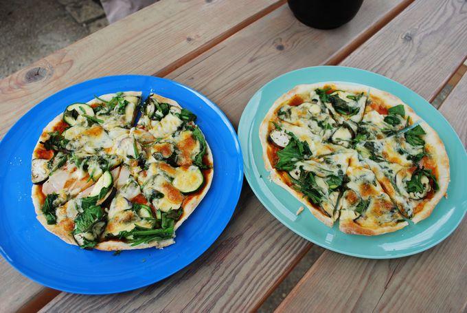 石窯焼きピザを食べた後は、果物や野菜の収穫も体験できる!?