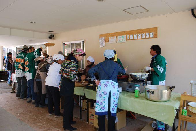 山菜祭りに新そば祭り収穫感謝祭などイベントが盛りだくさん!!