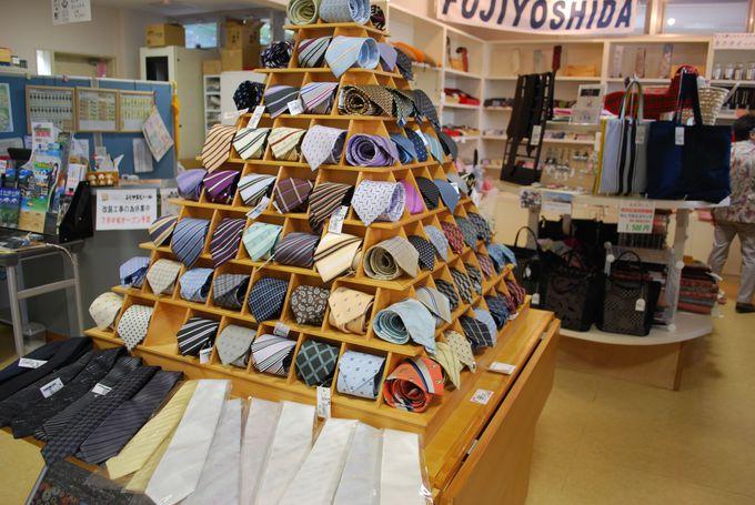 山梨の特産物の絹糸を使った美しい『甲斐絹』