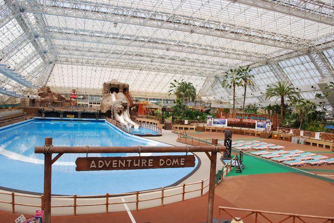 一年中プールで遊べる《東京サマーランド》あきる野市