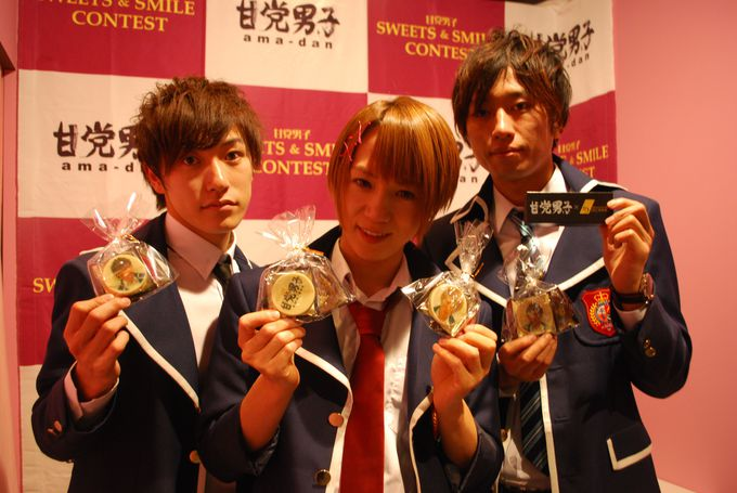 「東京チョコレートショー」一番のフォトスポット「壁ドン」!?