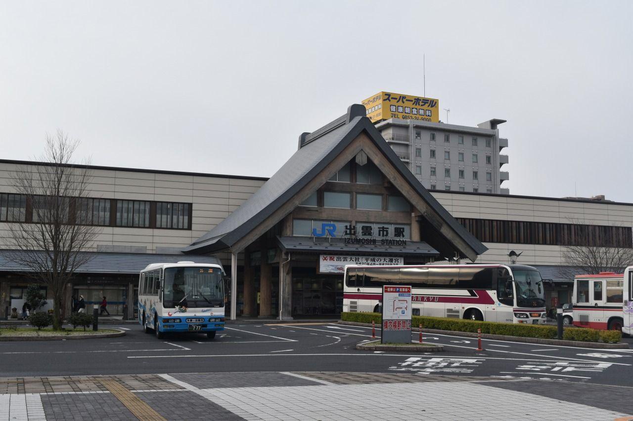 出雲市駅隣接!!出雲観光に便利な好立地のホテル