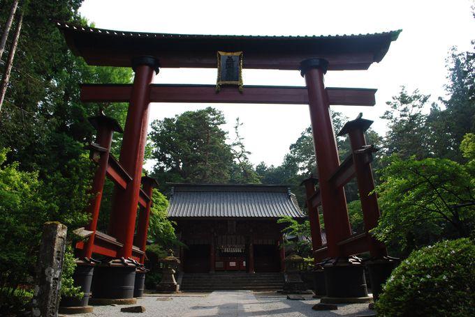 富士山の北登山道の起点「北口本宮富士浅間神社」