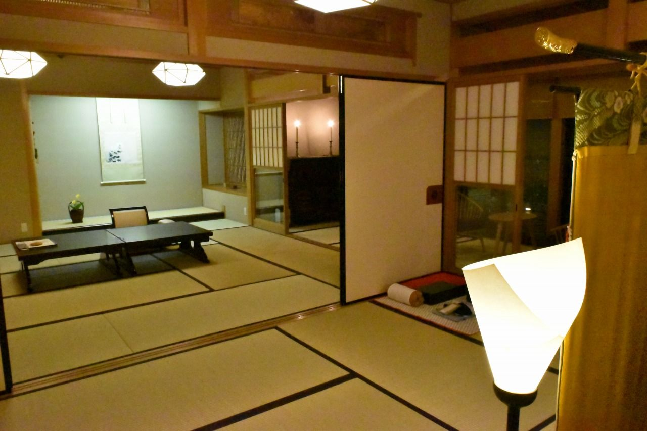 古美術品や庭園など日本ならではのしつらえを楽しむ