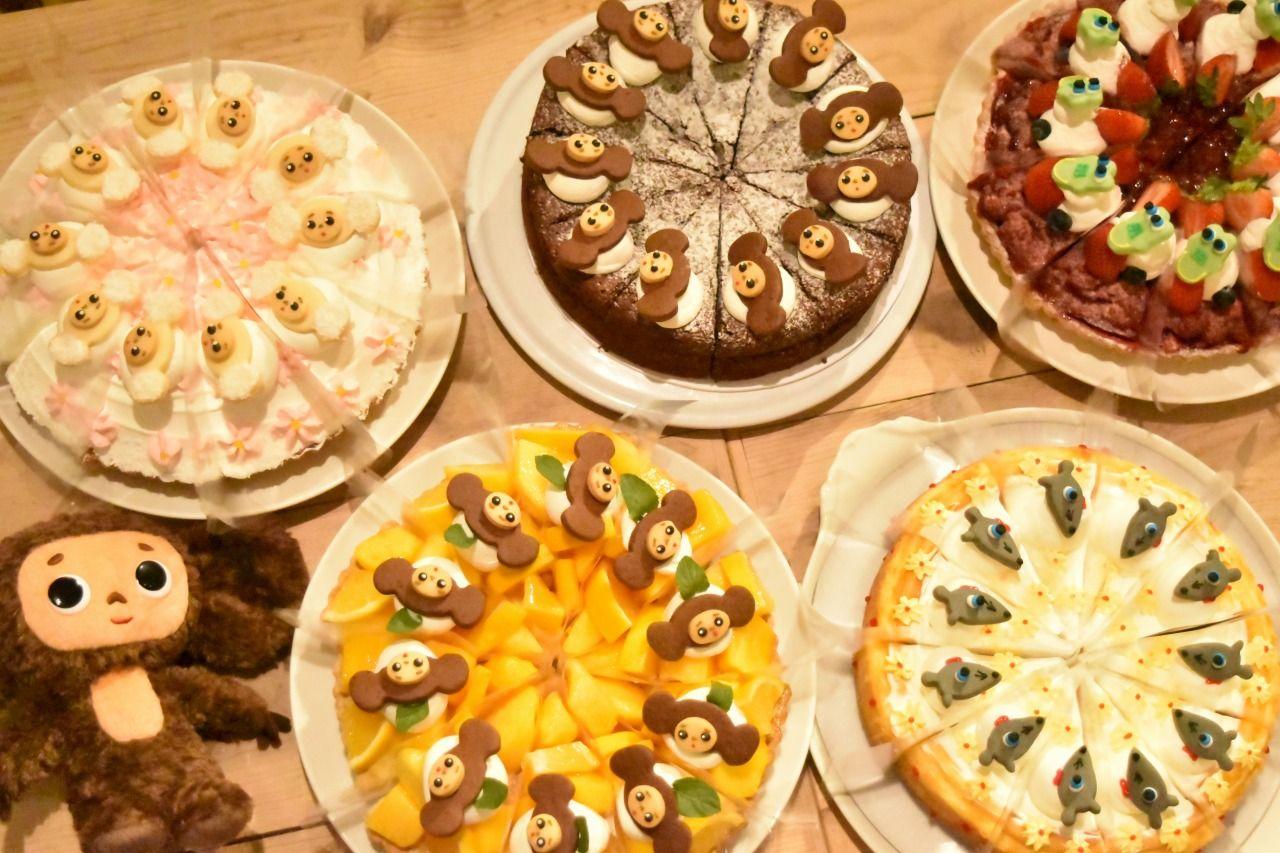 可愛いケーキは全部で5種類!!