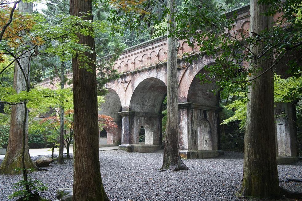 おすすめは雨の日!南禅寺 水路閣