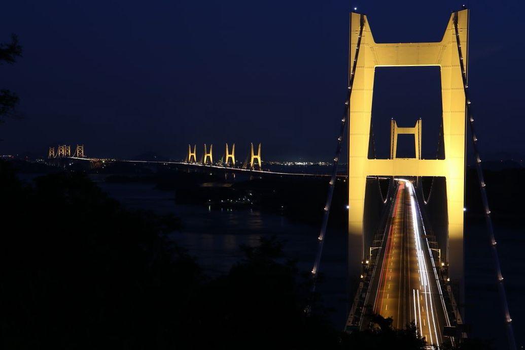 瀬戸大橋を倉敷・鷲羽山側から様々な角度で楽しもう!