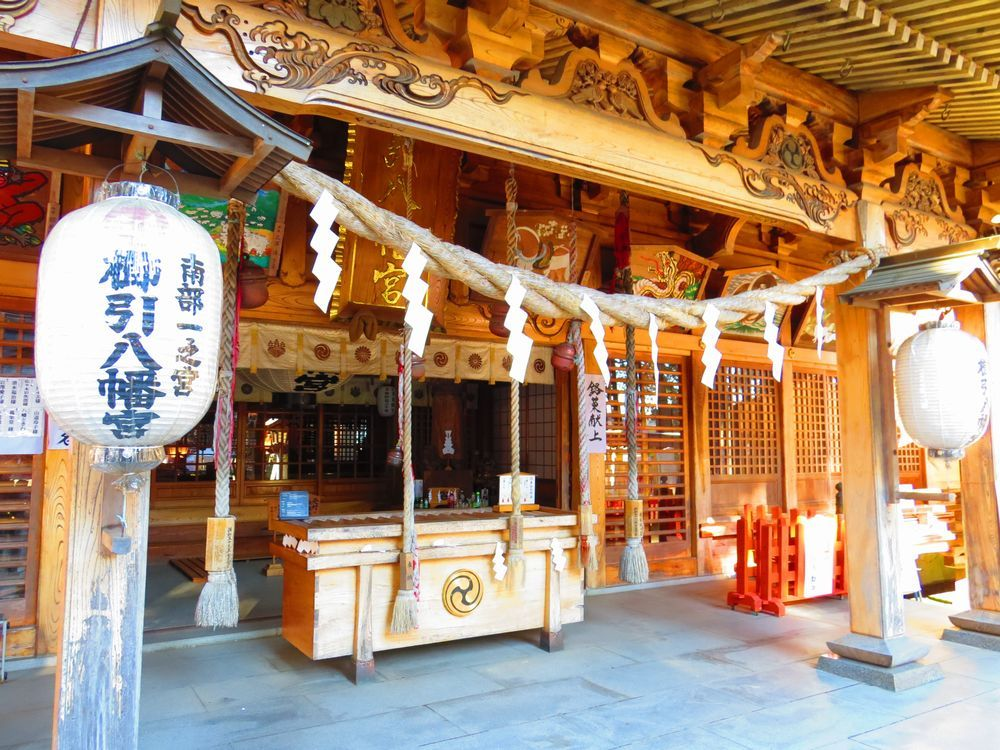 河童に出合える神社!?八戸市「櫛引八幡宮」に河童を訪ねてみよう