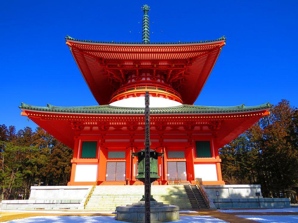 必ず観光したい高野山の中心「金剛峯寺・壇上伽藍」