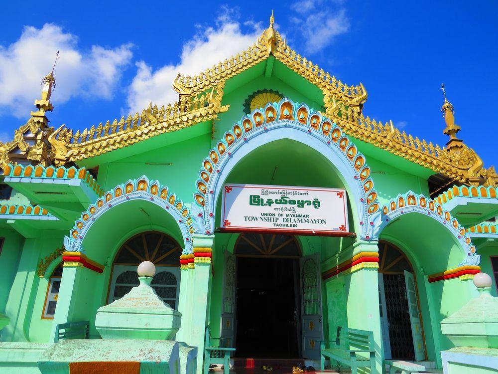 ゴールドとパステルグリーンの二つの寺院!ミャンマー・タチレクで巡る色鮮やかな場所