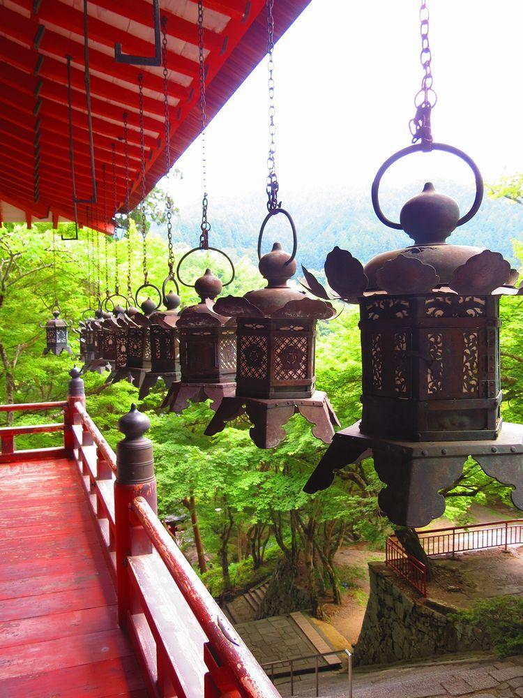 神廟拝所からの眺め