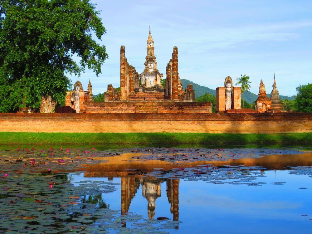 タイ・スコータイはタイ人の源流!世界遺産の遺跡群