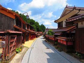 こんな町並みが岡山県に!全てが赤褐色「吹屋ふるさと村」|岡山県|トラベルjp<たびねす>