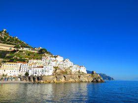 アマルフィ海岸は息を飲む美しさ!イタリアで青と白の世界