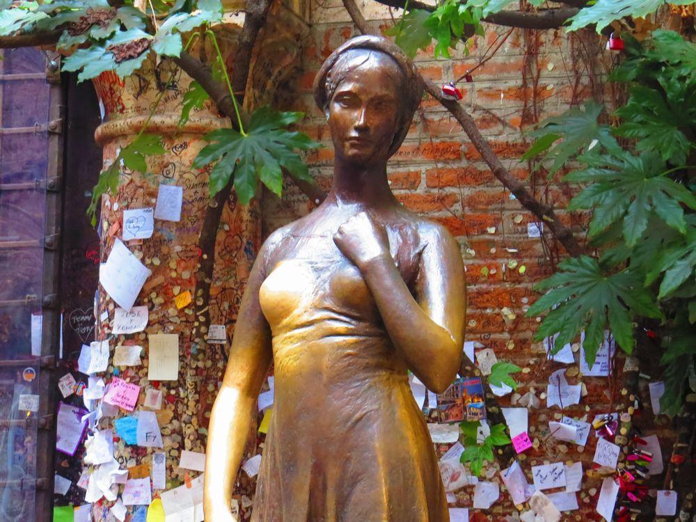 ジュリエッタ像は恋のパワースポット