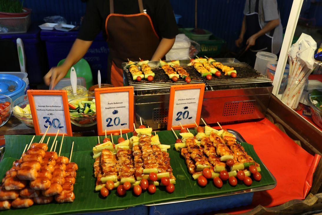 様々な食べ物