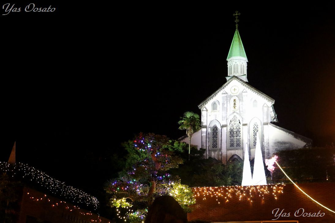大浦天主堂の荘厳な美しさ