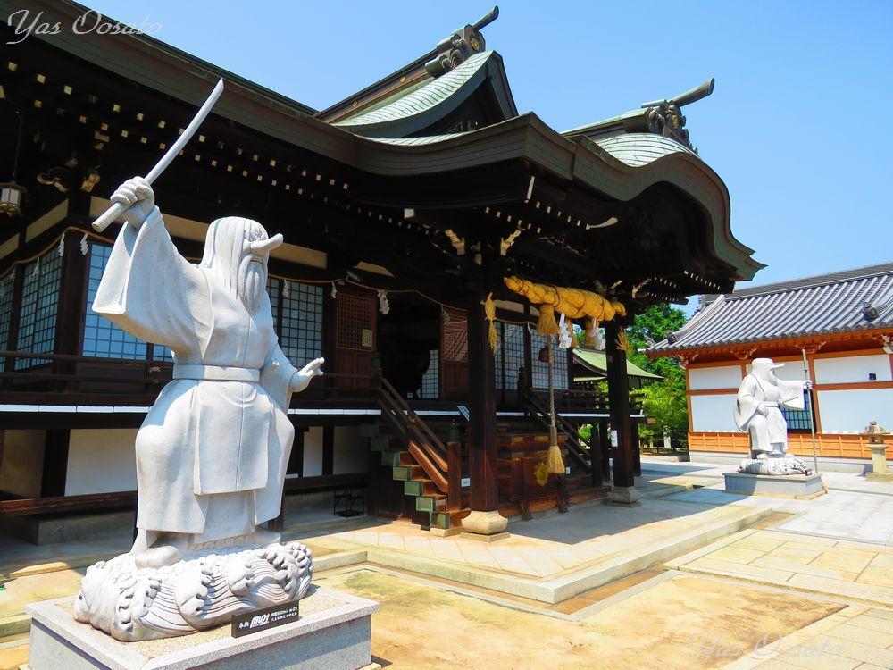 猿田彦命を祀る岡山笠岡・道通神社は蛇神信仰の総本宮
