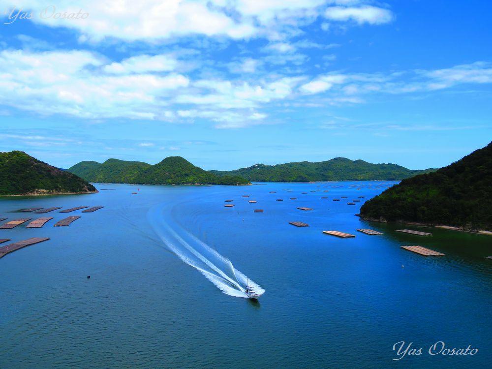 まるでハロン湾にエーゲ海!岡山ブルーラインで紺碧の絶景