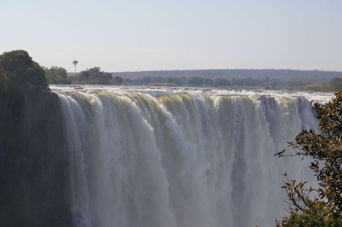落差と幅、水量は世界最大級!
